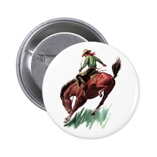 Montar a caballo del Bronc de la silla de montar Pins