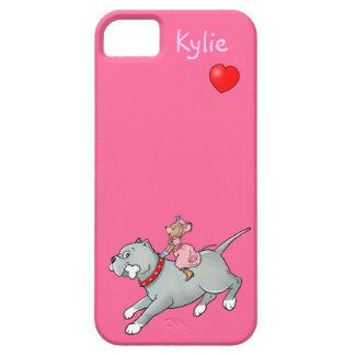 Montar a caballo del ratón en el perro - iPhone 5 Funda Para iPhone 5 Barely There