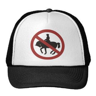 montar a caballo gorro