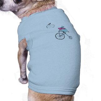 Montar a caballo guarro un penique-comino camisetas de mascota