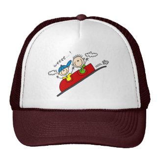 Montar el gorra del roller coaster