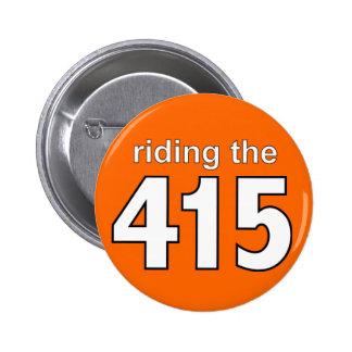 montar los 415 botón naranja pin