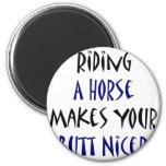 Montar un caballo hace su extremo Niza Imanes Para Frigoríficos