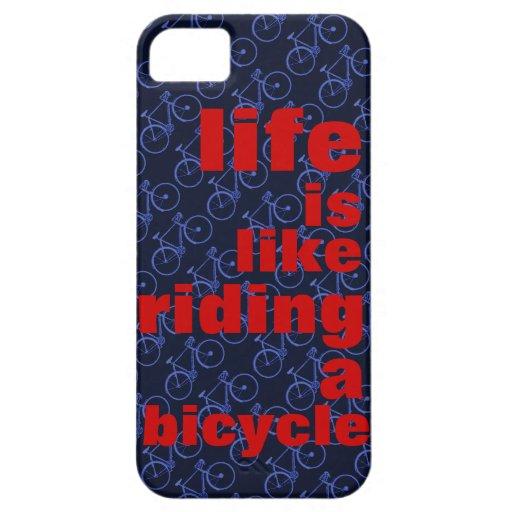 montar una bicicleta iPhone 5 cárcasas