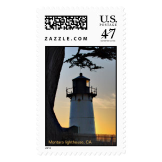 Montara Light, Montara lighthouse, CA Stamp