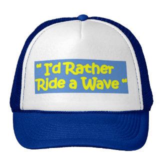 Montaría bastante una onda gorras de camionero