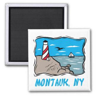 Montauk 2 Inch Square Magnet