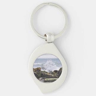 Montauk Beach Keychain