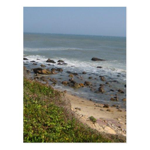 Montauk beach love 2.0 postcard