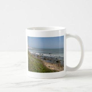 Montauk beach love coffee mug