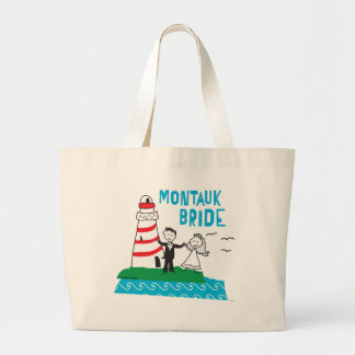 Montauk Bride Gifts Large Tote Bag
