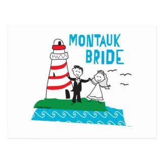 Montauk Bride Gifts Postcard