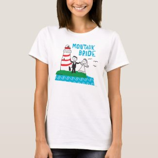 Montauk Bride T-shirt