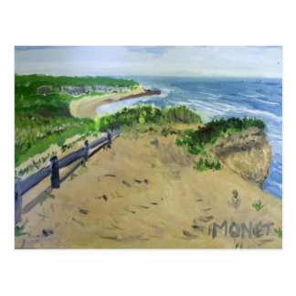 Montauk Cliffs Postcard