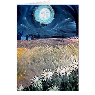Montauk daisy by Gregory Gallo Card