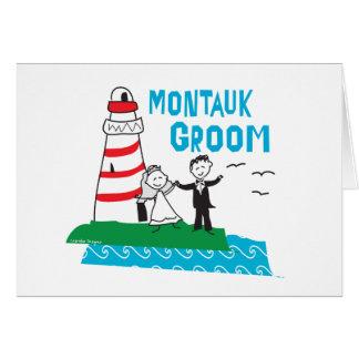 Montauk Groom Gifts Card