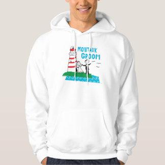 Montauk Groom Gifts Hoodie