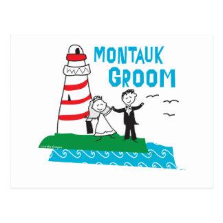Montauk Groom Gifts Postcard