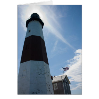 Montauk Lighthouse - Blank Inside Greeting Card