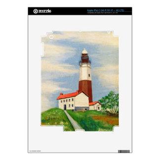 Montauk Lighthouse iPad 3 Decal