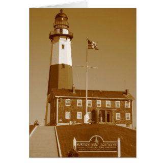 Montauk Lighthouse Love Card