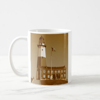 Montauk Lighthouse Love Coffee Mug