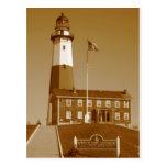 Montauk Lighthouse Love Postcard