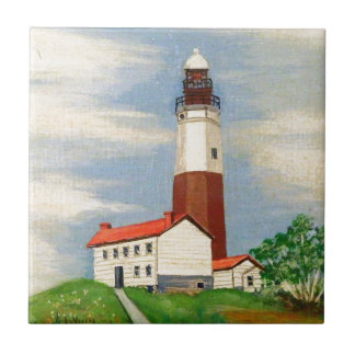 Montauk Lighthouse Tile