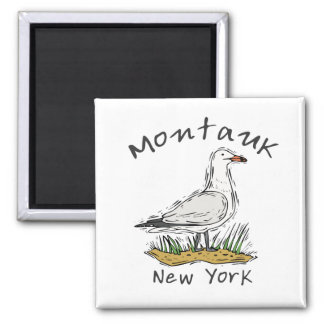 Montauk, NY 2 Inch Square Magnet