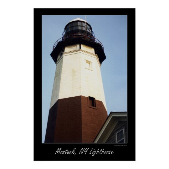 Montauk NY lighthouse Poster