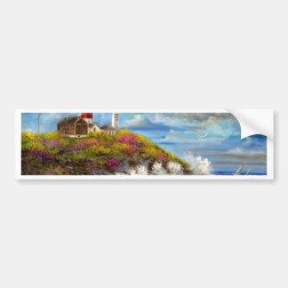 Montauk Point Lighthouse Car Bumper Sticker