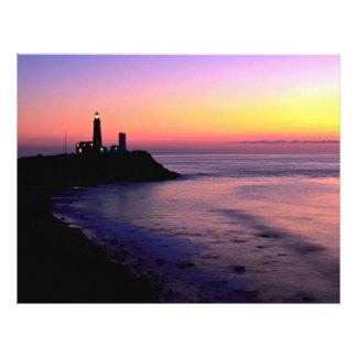 Montauk Point lighthouse Custom Flyer