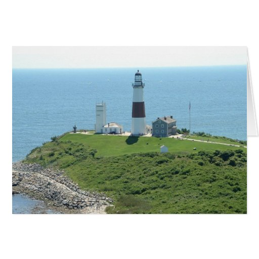 Montauk Point Lighthouse Greeting Cards