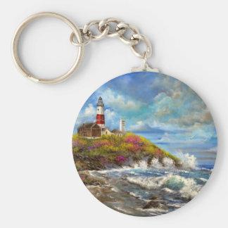 Montauk Point Lighthouse Keychain