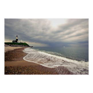 Montauk Point LIghthouse, Long Island, New York Poster