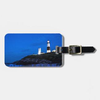 Montauk Point Lighthouse Luggage Tag