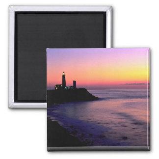 Montauk Point lighthouse Refrigerator Magnets