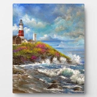 Montauk Point Lighthouse Plaque
