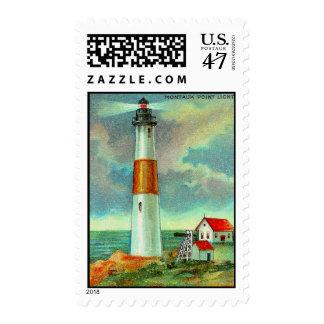 Montauk Point Lighthouse Postage