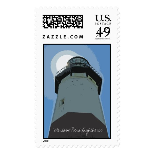 Montauk Point Lighthouse Postage