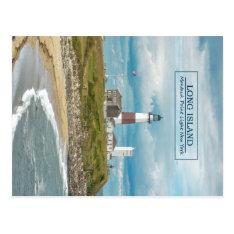 Montauk Point Lighthouse Postcard at Zazzle