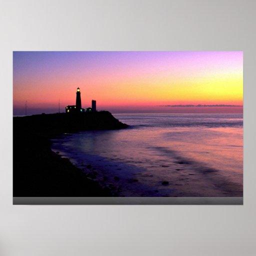 Montauk Point lighthouse Poster