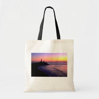 Montauk Point lighthouse Tote Bag