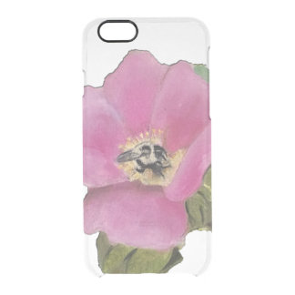 Montauk Rose Clear iPhone 6/6S Case