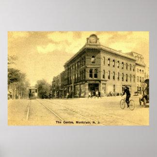 Montclair, grúa Building, de NJ vintage 1915 Impresiones