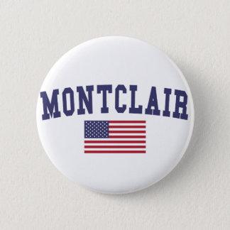 Montclair US Flag Button