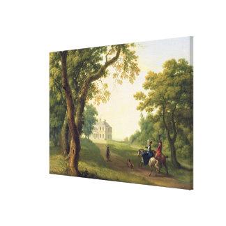 Monte a Kennedy, condado Wicklow, Irlanda, 1785 (a Lona Envuelta Para Galerias