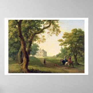 Monte a Kennedy, condado Wicklow, Irlanda, 1785 (a Póster
