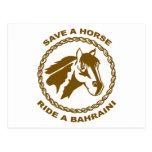 Monte a un bahreiní tarjetas postales