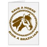 Monte a un brasilen@o tarjeta